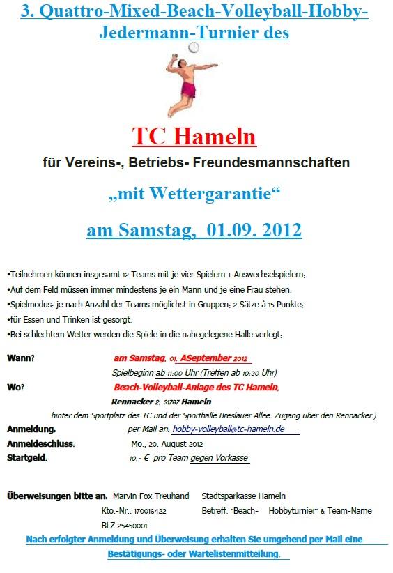 TC HM Turnier 2012